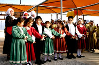 The Traditional costume of Kefalos.