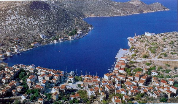 The Town of Kastelorizo.