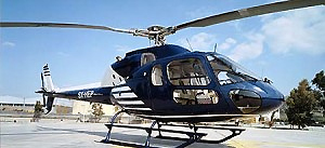 The AS 355F2 Eurocopter.