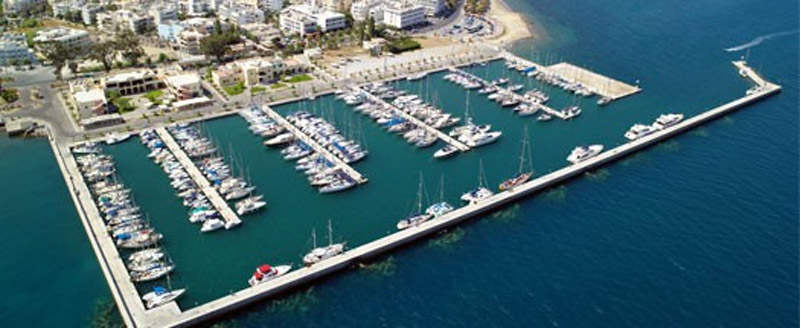 The Marina at Kos - Bird view.