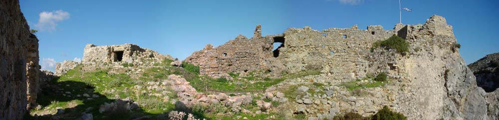 Panorama - The Castle of Old Pyli.