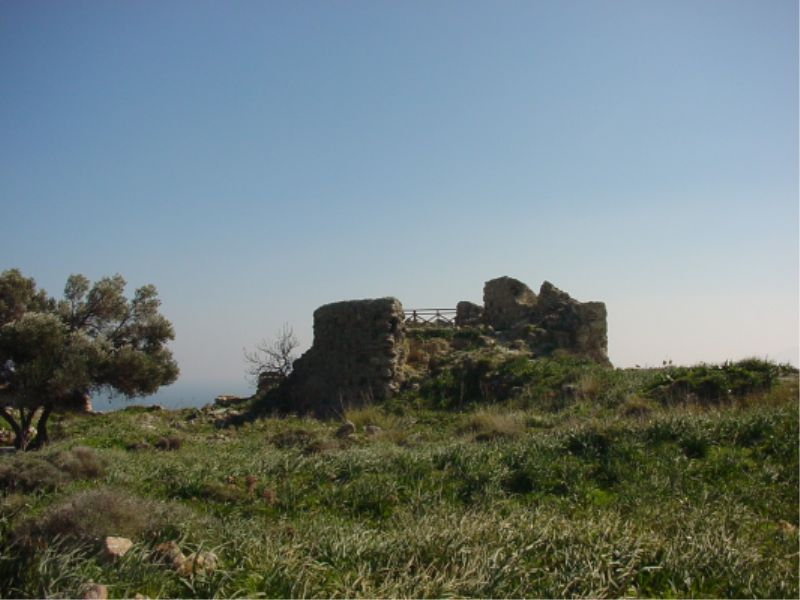 The castle of Antimachia.