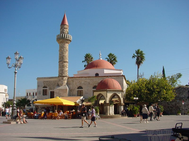 Defterdar Mosque on the Elefteria Square.