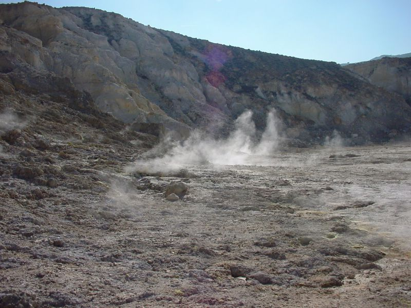Nissyros - The Crater.