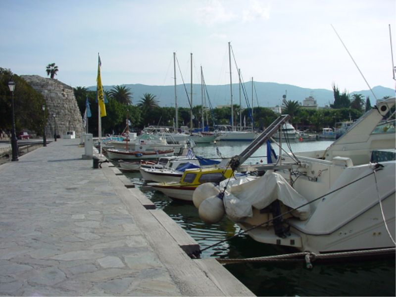 Kos - The Harbour.